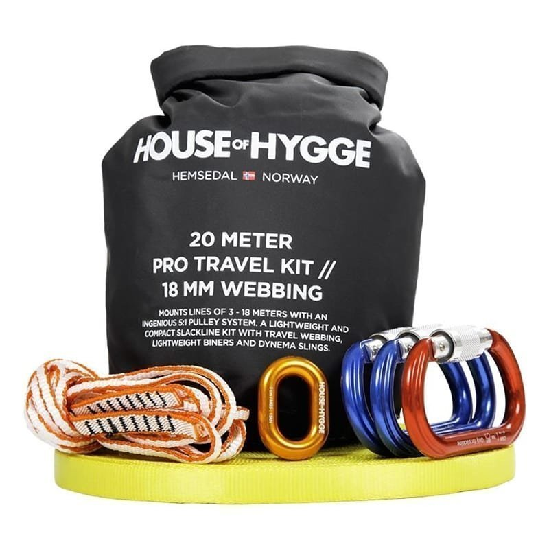 House of Hygge Travel Kit 20m 20M/18MM Yellow