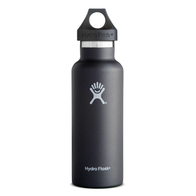 Hydroflask Standard Mouth 18oz (532ml) OneSize Black
