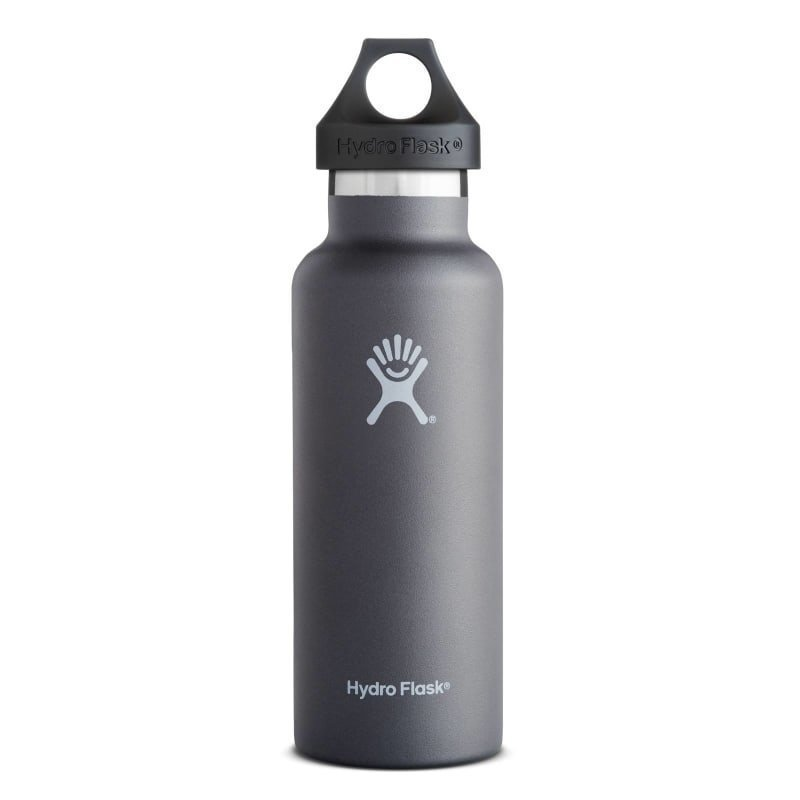 Hydroflask Standard Mouth 18oz (532ml) OneSize Graphite