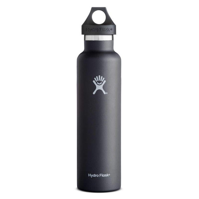 Hydroflask Standard Mouth 24oz (709ml) OneSize Black