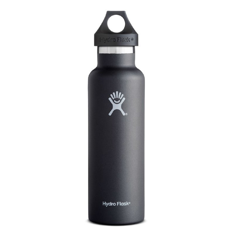 Hydroflask Standard Mouth Sport 21oz (621ml) 1SIZE Black