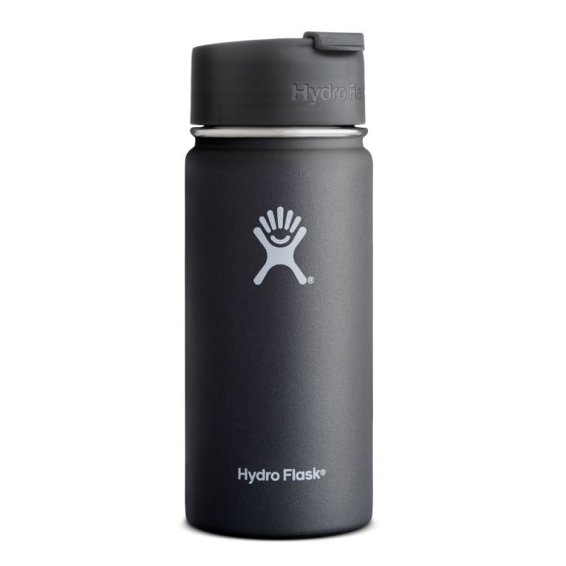 Hydroflask Wide Mouth Coffe 16oz (473ml) 1SIZE Black