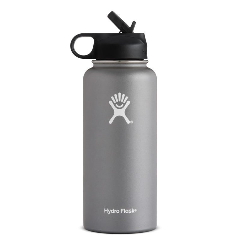 Hydroflask Wide Mouth Straw 32oz (946ml) 1SIZE Graphite