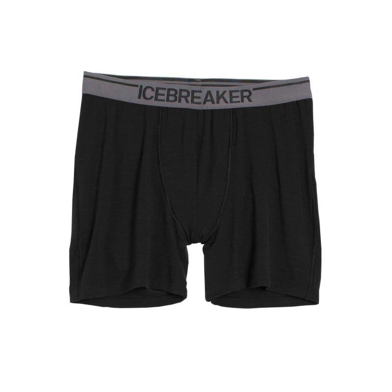 Icebreaker Men's Anatomica Boxers L Black/Monsoon
