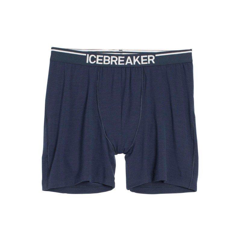 Icebreaker Men's Anatomica Boxers M Admiral/White
