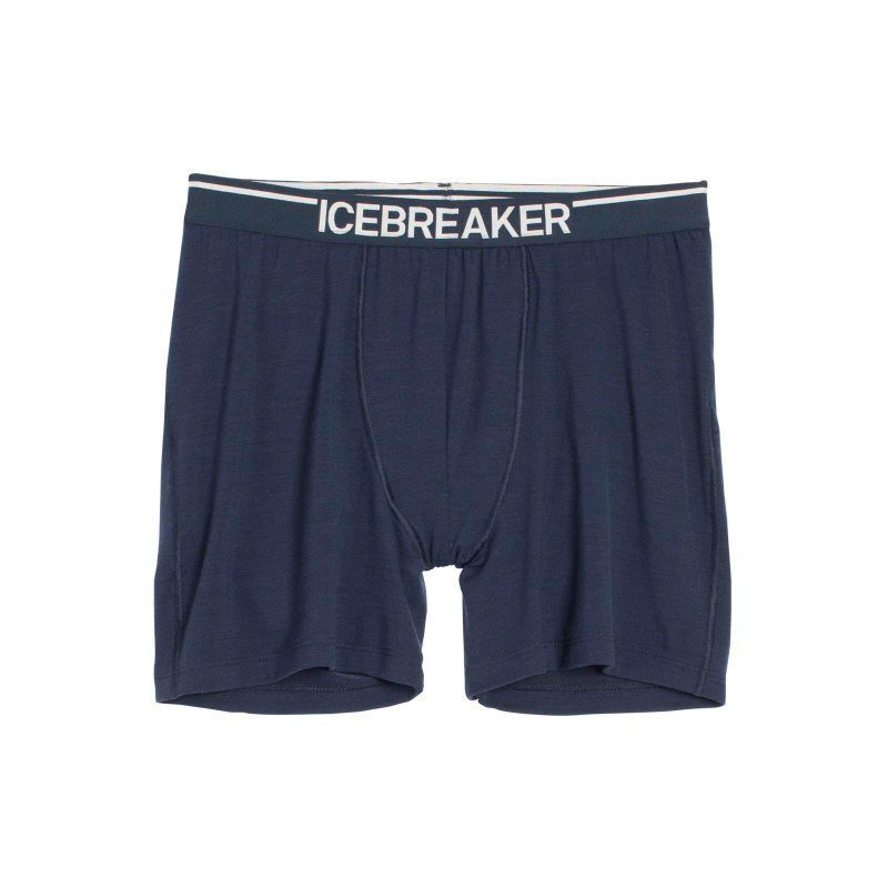 Icebreaker Men's Anatomica Boxers XL Admiral/White