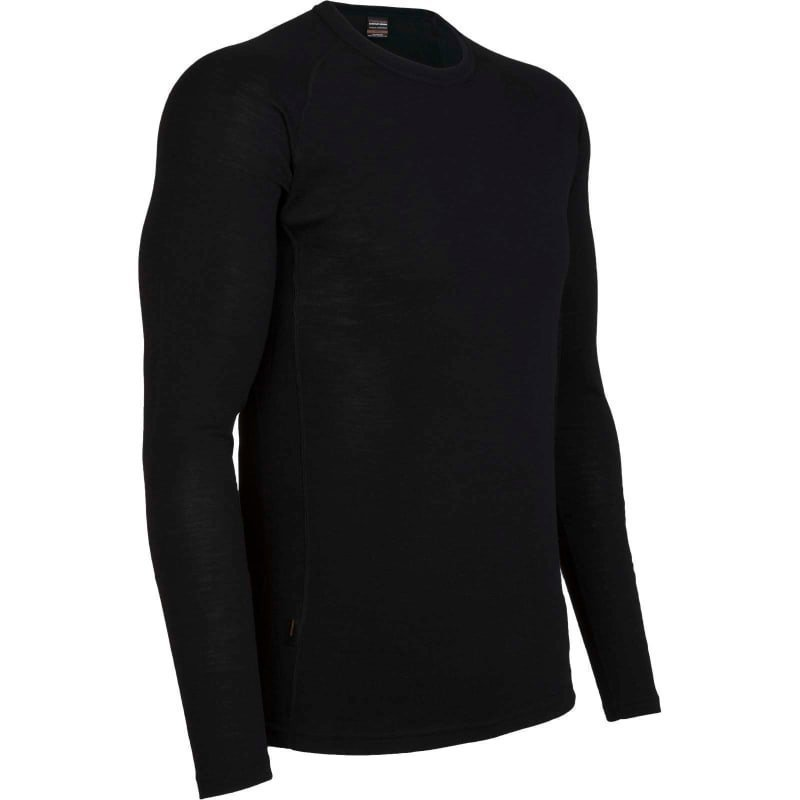 Icebreaker Men's Everyday LS Crewe XL Black