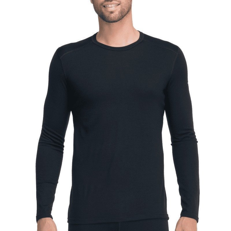 Icebreaker Men's Oasis LS Crewe XL Black