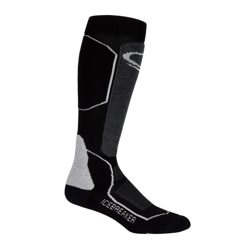 Icebreaker Men's Ski+ Medium OTC S Black/Oil/Silver