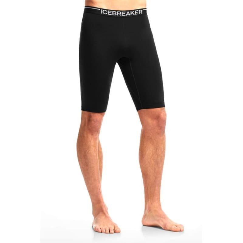 Icebreaker Mens Zone Shorts L Black/Monsoon/Black