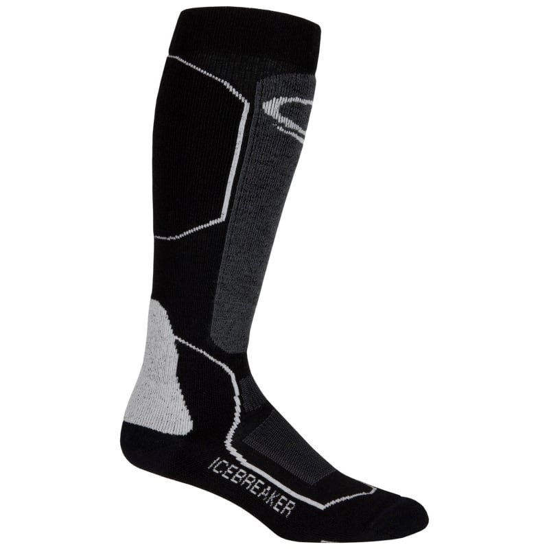 Icebreaker Women's Ski+ Medium OTC L Black/Oil/Silver