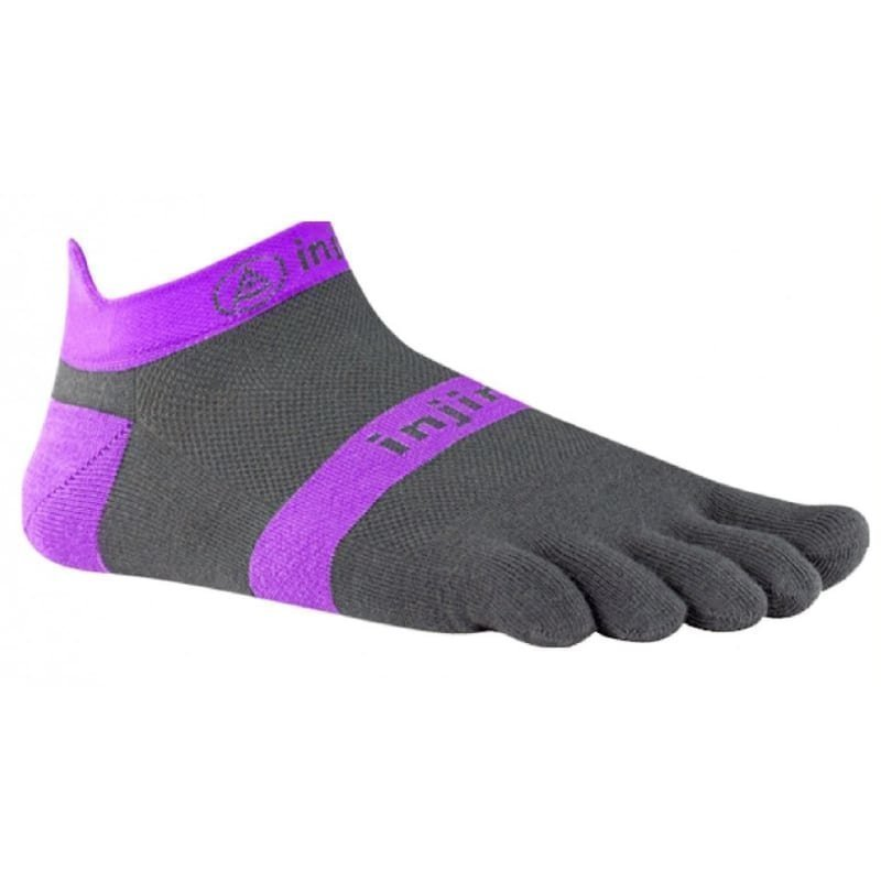 Injinji Run Lightweight No Show Xlife S (37-40) Purple Slate