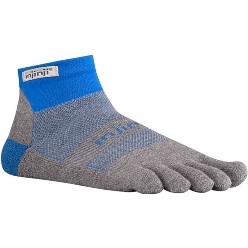 Injinji Run Original Weight Mini Crew Xlife L Mariner Blue
