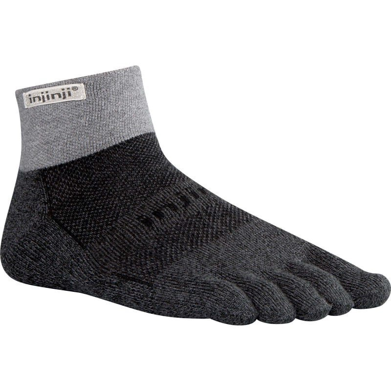 Injinji Trail Midweight Mini-Crew S Granite