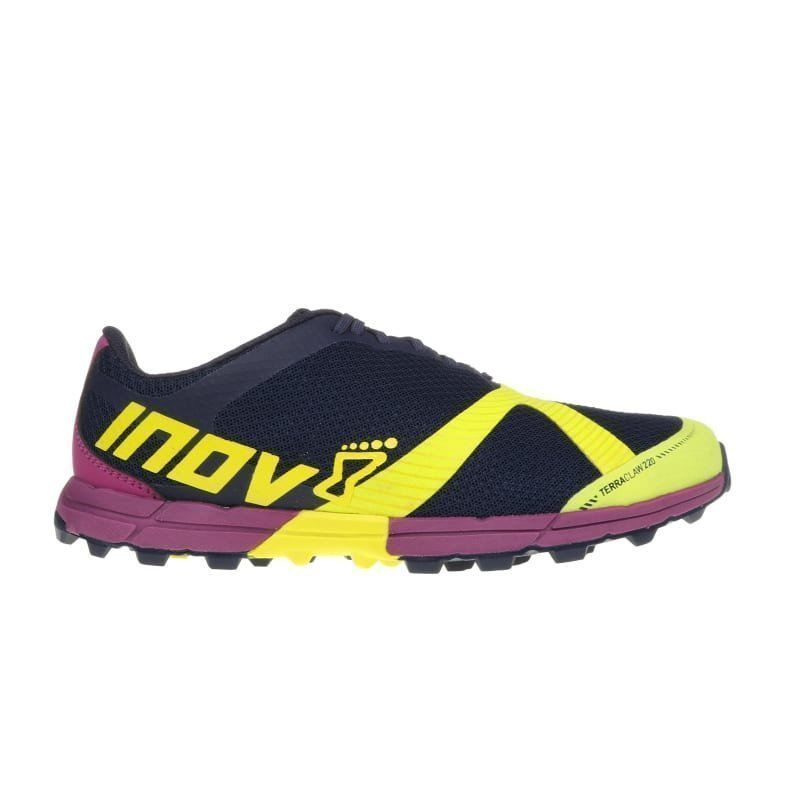 Inov8 Terraclaw 220 Women UK 4/EU 37 NAVY/LIME/PURPLE