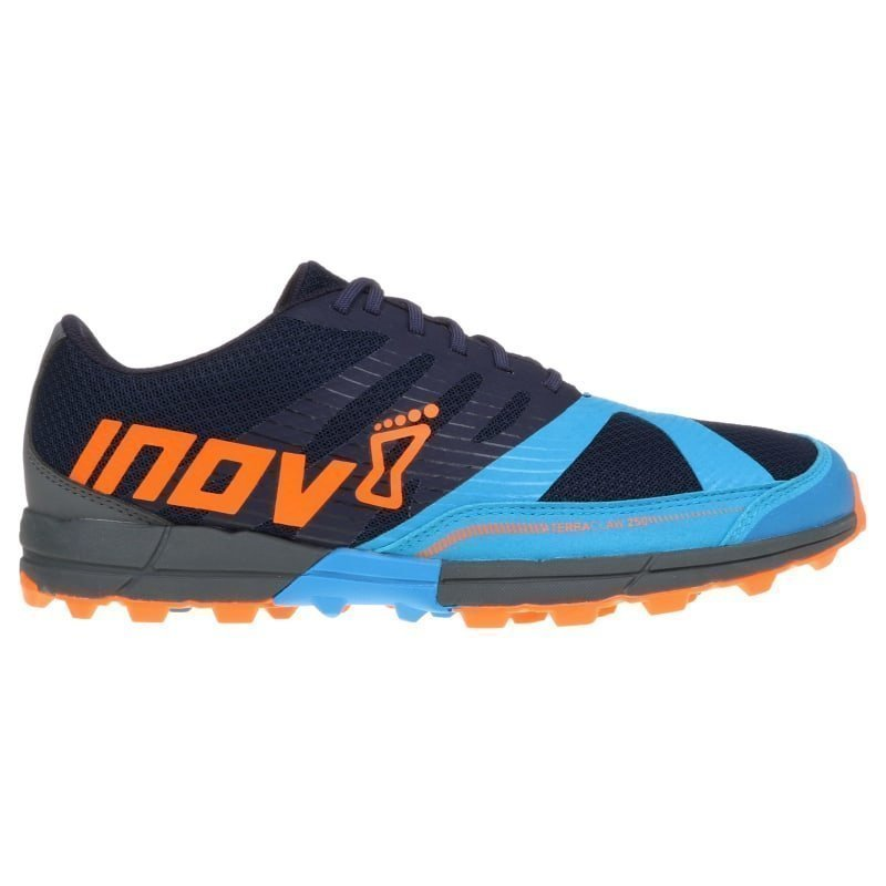 Inov8 Terraclaw 250 Men UK 8/EU 42 NAVY/BLUE/ORANGE