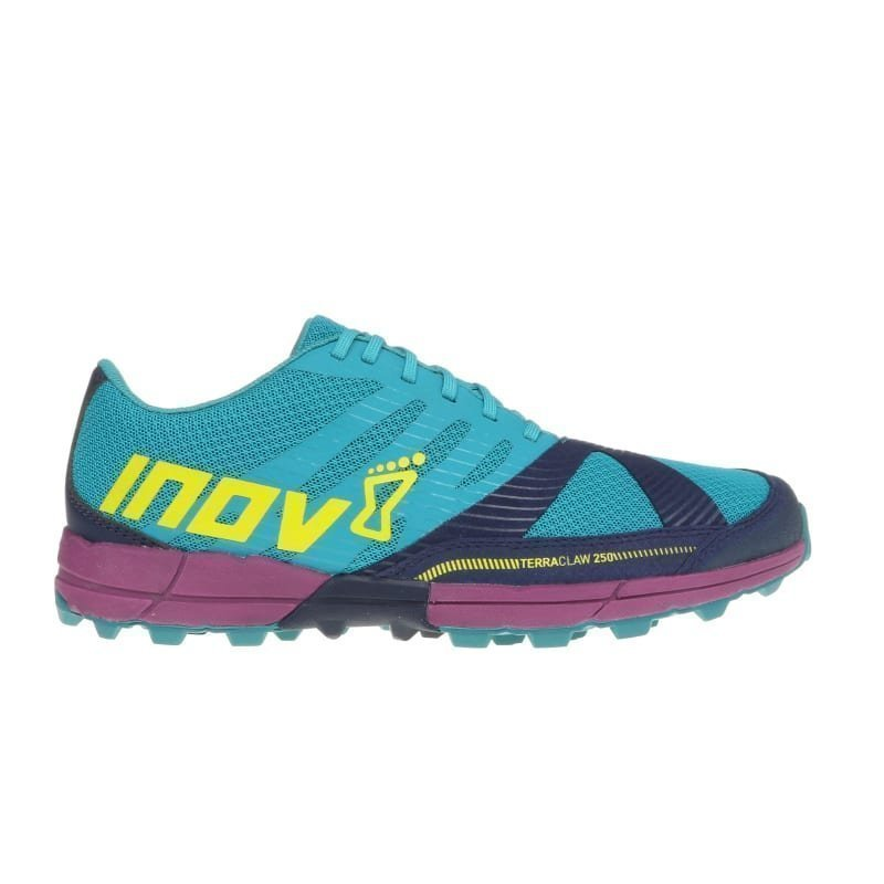 Inov8 Terraclaw 250 Women UK 4/EU 37 TEAL/NAVY/PURPLE