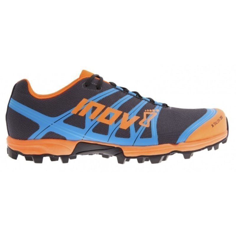 Inov8 X-Talon 200 UK 8/EU 42 GREY/ORANGE/BLUE