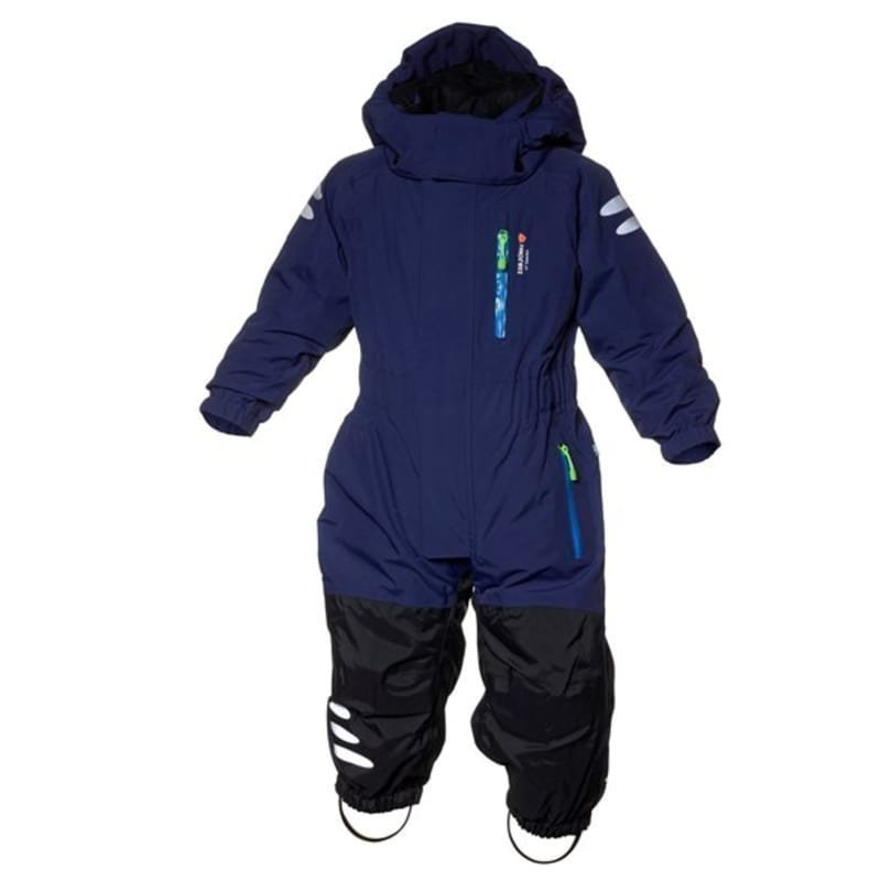 Isbjörn of Sweden Penguin Winter Jumpsuit 80 Navy Blue