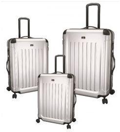 JSA matkalaukku 90L hopea