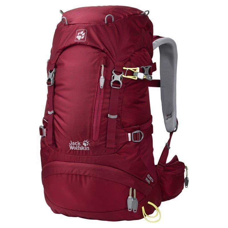 Jack Wolfskin ACS Hike 24 Women Pack 1SIZE Cabernet