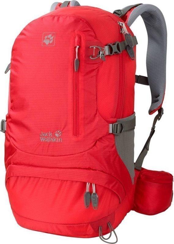 Jack Wolfskin Acs Hike 22 Women Pack Punainen