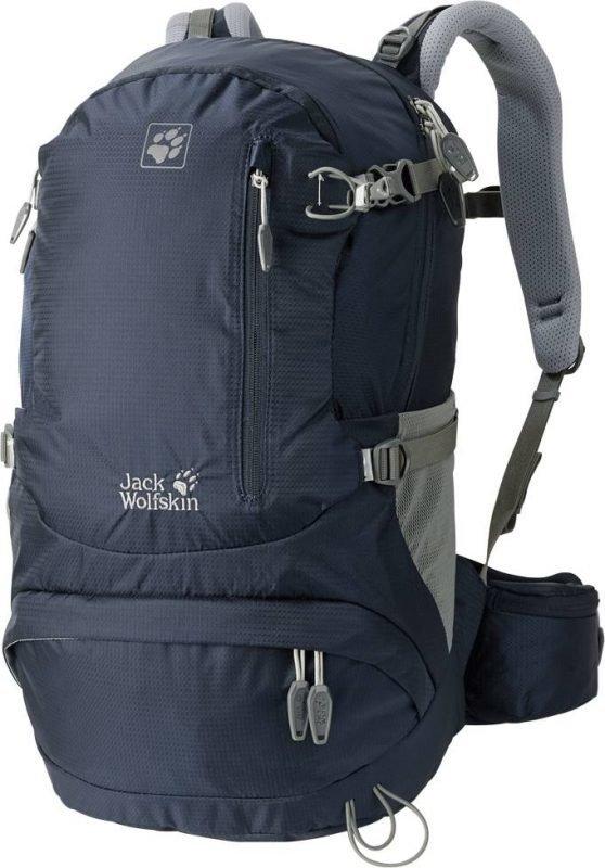 Jack Wolfskin Acs Hike 22 Women Pack Tummansininen