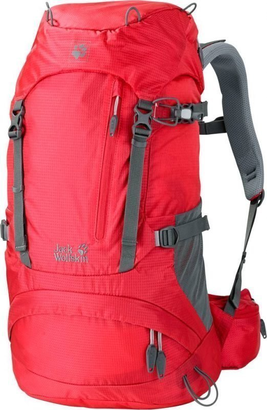 Jack Wolfskin Acs Hike 24 Women Pack Punainen