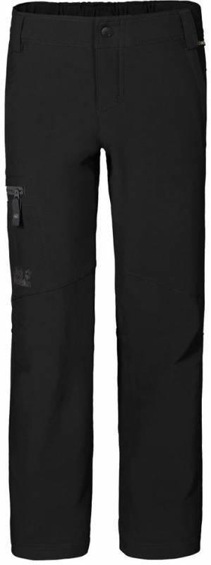 Jack Wolfskin Activate II Softshell Pants Boys Musta 140