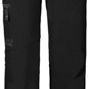 Jack Wolfskin Activate II Softshell Pants Boys Musta 176