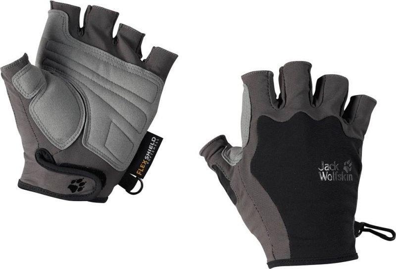 Jack Wolfskin Activate Short Glove Musta L