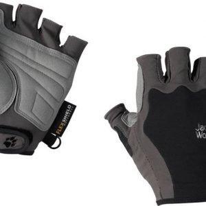 Jack Wolfskin Activate Short Glove Musta S