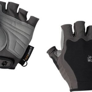 Jack Wolfskin Activate Short Glove Musta XL