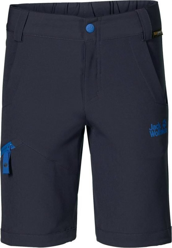 Jack Wolfskin Activate Softshell Shorts Tummansininen 104