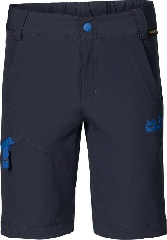 Jack Wolfskin Activate Softshell Shorts Tummansininen 128