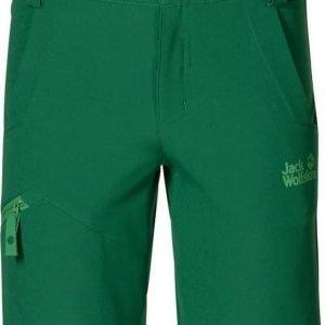 Jack Wolfskin Activate Softshell Shorts Vihreä 116