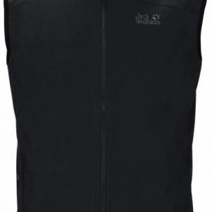 Jack Wolfskin Activate Vest Men Musta XL