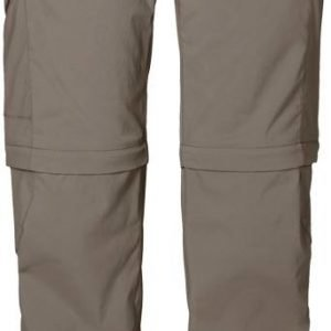 Jack Wolfskin Activate Zip Off Pants Harmaa 34