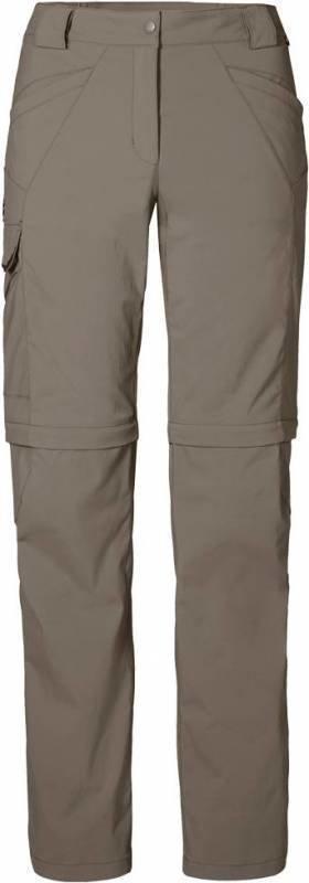 Jack Wolfskin Activate Zip Off Pants Harmaa 36