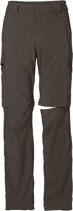 Jack Wolfskin Activate Zip Off Pants M Oliivi 58