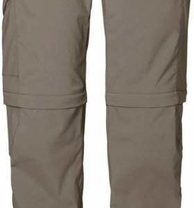 Jack Wolfskin Activate Zip Off Pants Musta 34