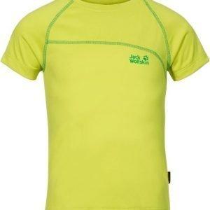 Jack Wolfskin Active T-Shirt B Keltainen 116