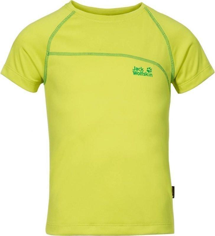 Jack Wolfskin Active T-Shirt B Keltainen 128