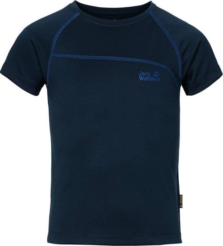 Jack Wolfskin Active T-Shirt B Tummansininen 128