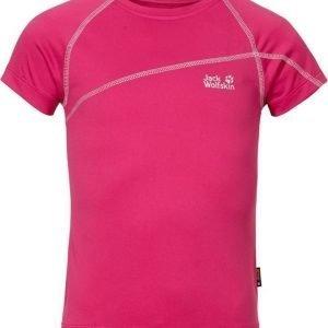 Jack Wolfskin Active T-Shirt G Pink 104