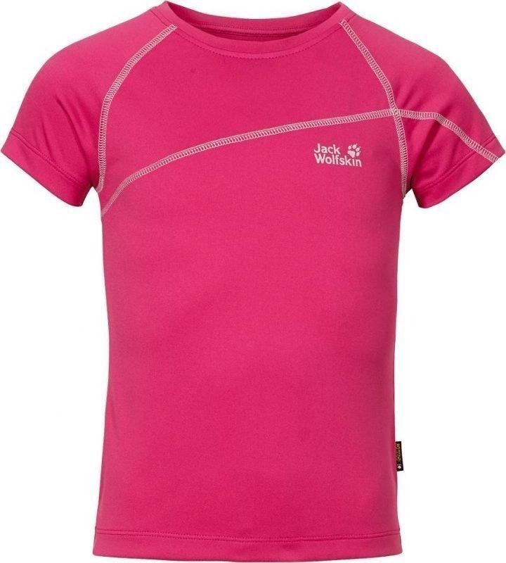 Jack Wolfskin Active T-Shirt G Pink 140