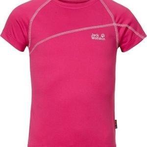 Jack Wolfskin Active T-Shirt G Pink 152