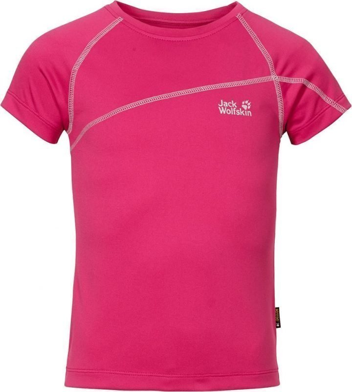 Jack Wolfskin Active T-Shirt G Pink 164