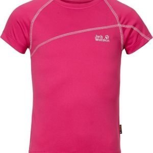 Jack Wolfskin Active T-Shirt G Pink 176