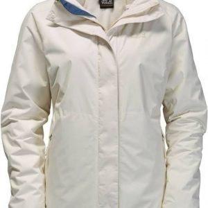 Jack Wolfskin Arborg 3In1 Valkoinen XL